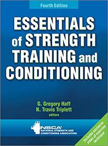 Essentials of Strength Training and Conditioning, 4th Edition (Repost)