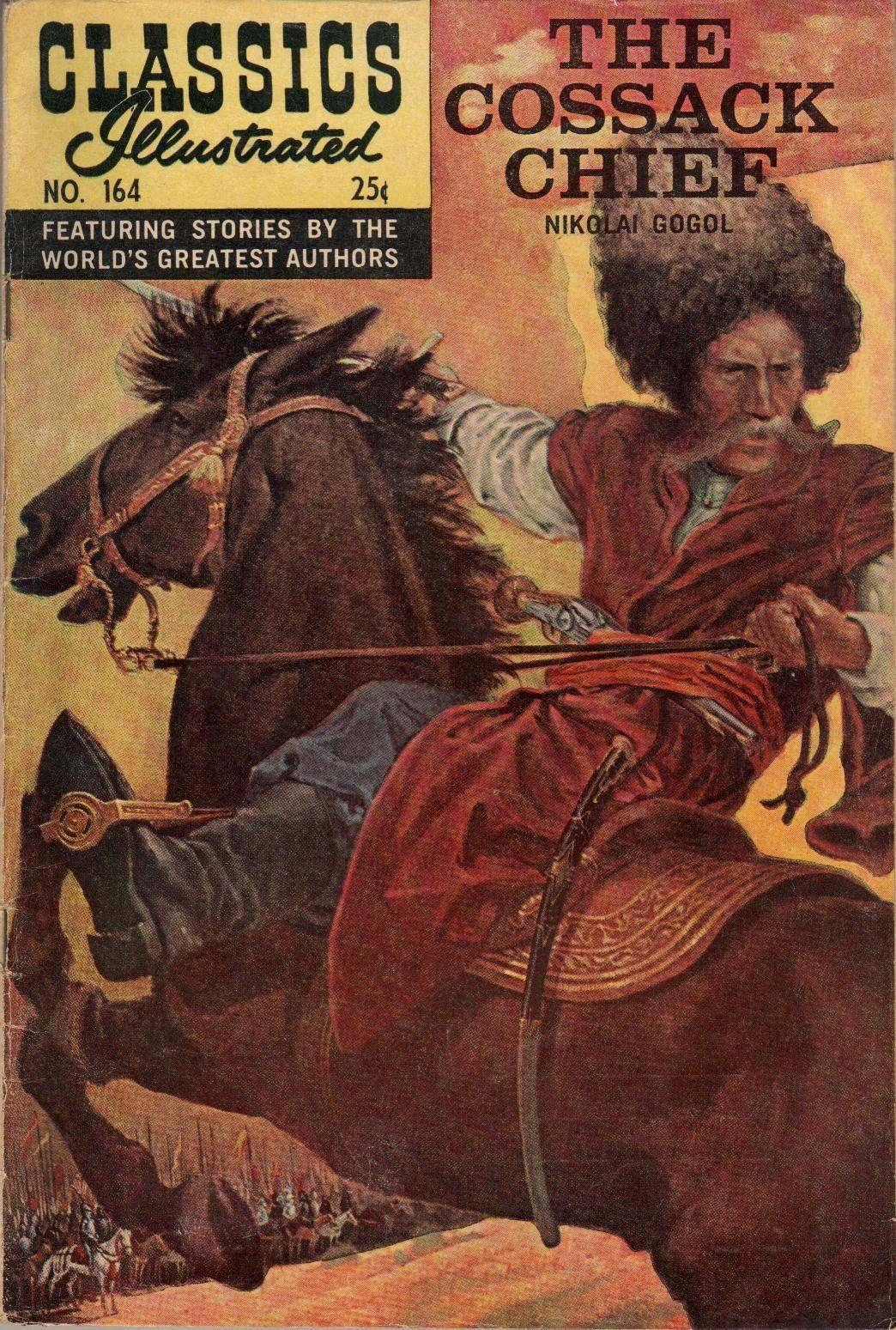 For Spectre99 - Classics Illustrated 164 The Cossack Chief Nikoli Gogol cbr
