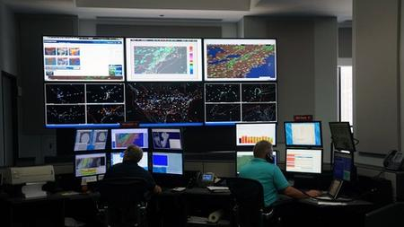 Working at a Network Operations Center (NOC)