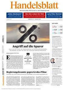 Handelsblatt - 16. Januar 2018