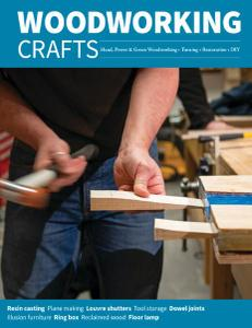 Woodworking Crafts - January-February 2021