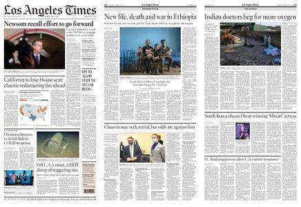 Los Angeles Times – April 27, 2021