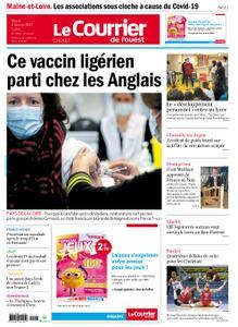 Le Courrier de l'Ouest Cholet – 02 février 2021