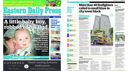 Eastern Daily Press – September 20, 2017
