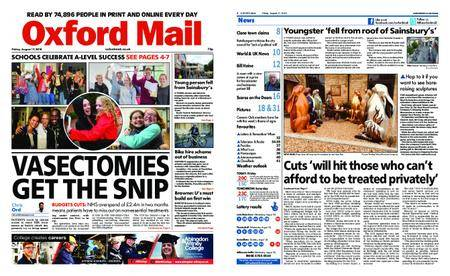 Oxford Mail – August 17, 2018
