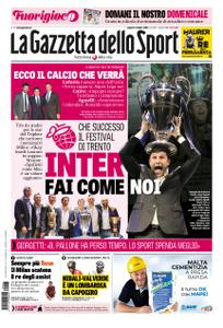 La Gazzetta dello Sport – 13 ottobre 2018