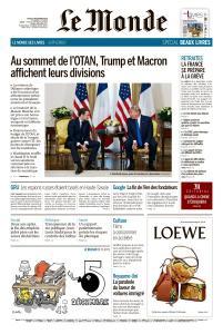 Le Monde du Jeudi 5 Décembre 2019