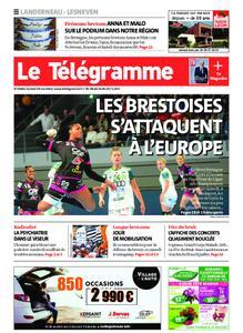 Le Télégramme Landerneau - Lesneven – 29 mai 2021