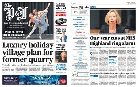 The Press and Journal Moray – November 15, 2019