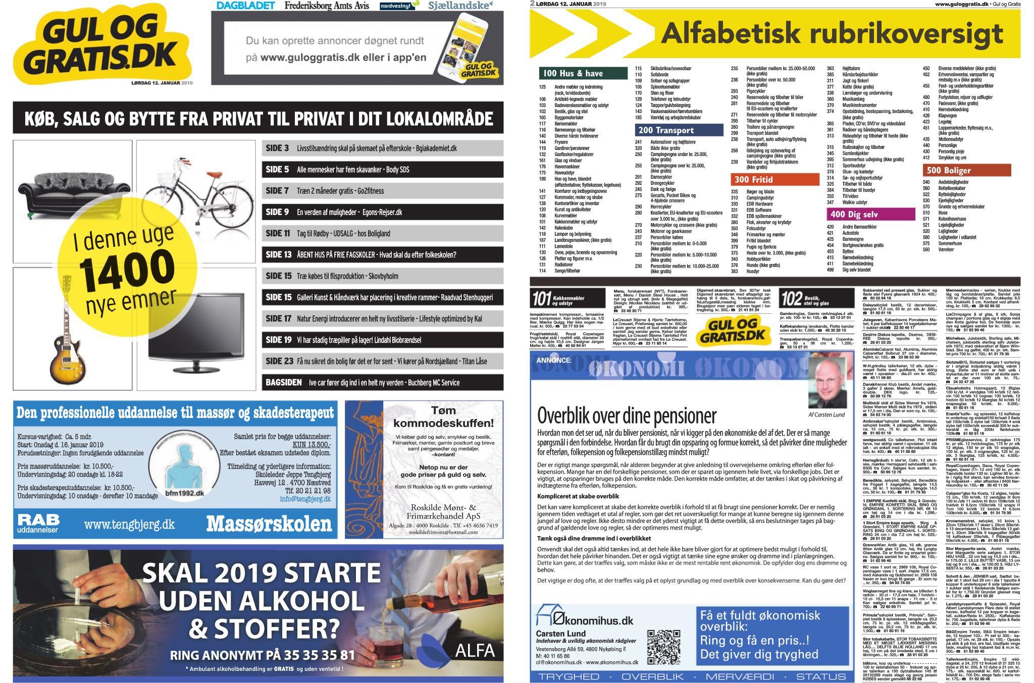 Nordvestnyt Holbæk Odsherred – 12. januar 2019