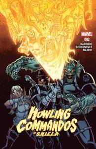 Howling Commandos of S H I E L D 002 2016 2 covers digital