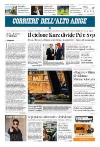 Corriere dell'Alto Adige - 17 Ottobre 2017