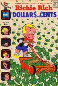 Richie Rich Dollars and Cents 042 (1971) (Harvey) (INC)