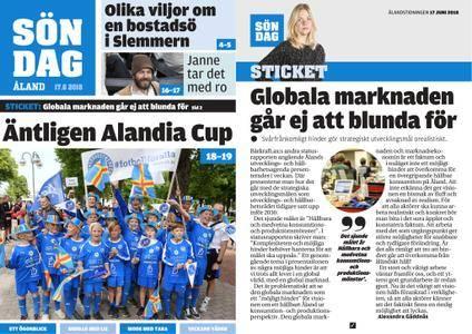 Ålandstidningen – 17 juni 2018