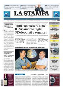 La Stampa Torino Provincia e Canavese - 9 Ottobre 2019