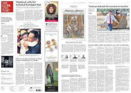 The Globe and Mail – August 21, 2018