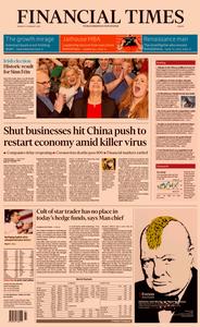 Financial Times Europe – 10 February 2020