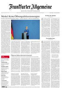 Frankfurter Allgemeine Zeitung - 21 April 2020