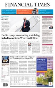 Financial Times Asia - June 29, 2020