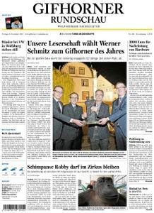 Gifhorner Rundschau - Wolfsburger Nachrichten - 09. November 2018