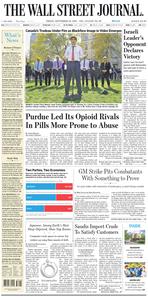 The Wall Street Journal – 20 September 2019