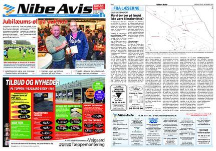 Nibe Avis – 19. november 2019