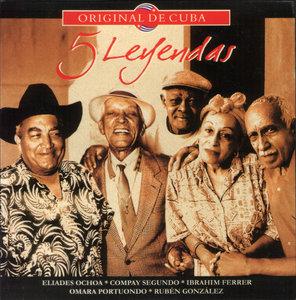 VA - Original De Cuba: 5 Leyendas (2005) 5CD Box Set