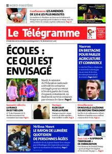 Le Télégramme Brest – 22 avril 2020