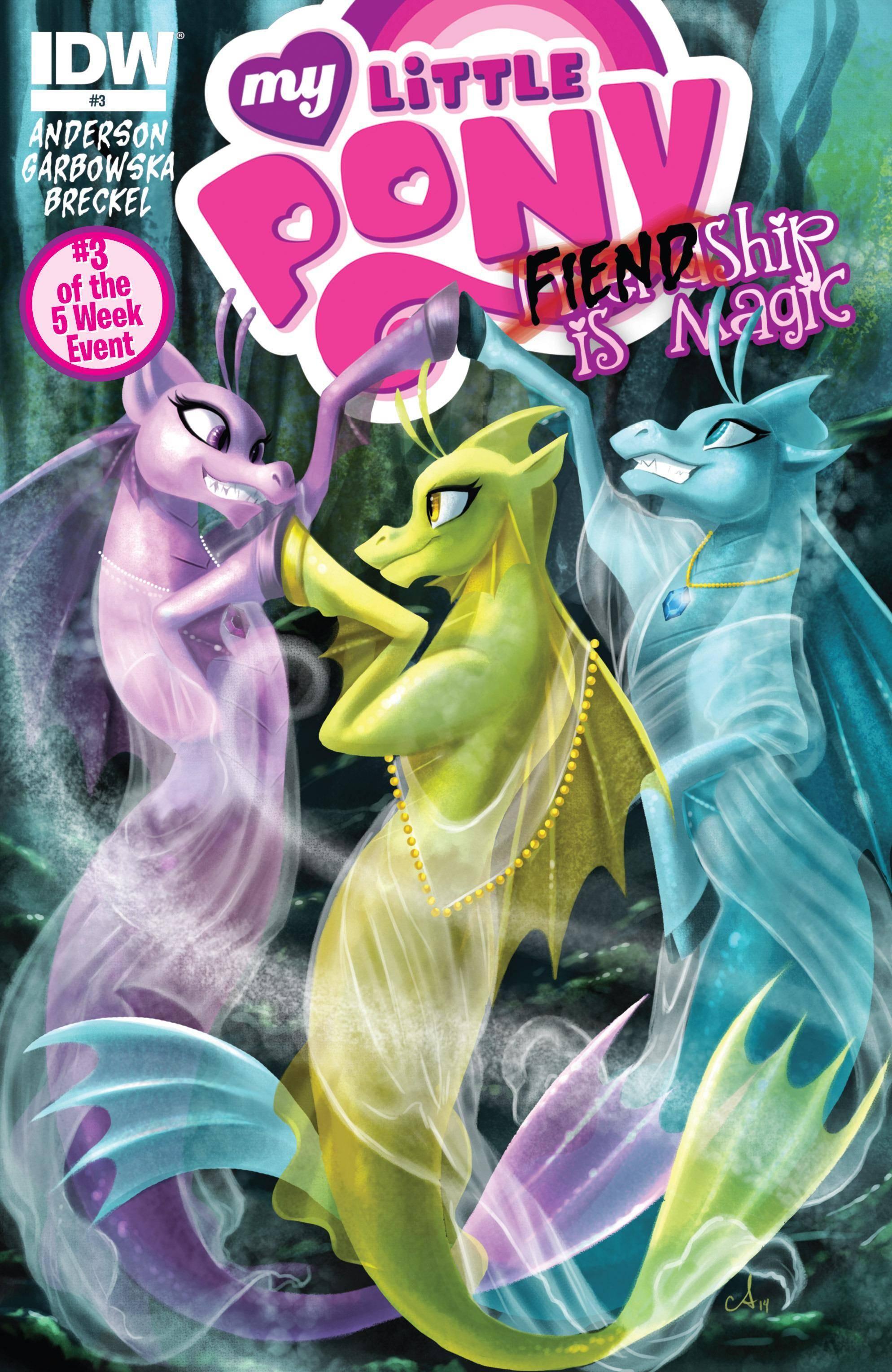My Little Pony- FIENDship is Magic 003 - Sirens 2015 digital