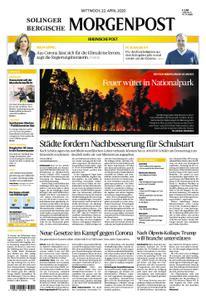 Solinger Morgenpost – 22. April 2020