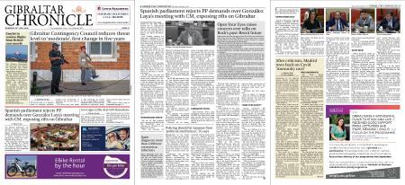 Gibraltar Chronicle – 30 July 2020