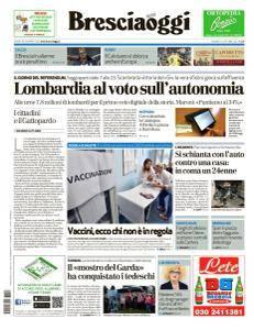 Brescia Oggi - 22 Ottobre 2017