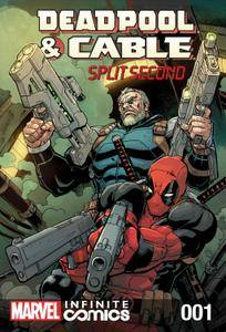 Deadpool  Cable - Split Second Infinite Comic 001 2015 digital