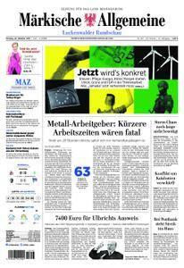 Märkische Allgemeine Luckenwalder Rundschau - 23. Oktober 2017