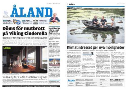 Ålandstidningen – 12 oktober 2019