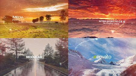 Parallax Media Opener - Project for After Effects (VideoHive)