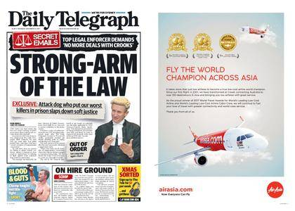 The Daily Telegraph (Sydney) – December 14, 2017