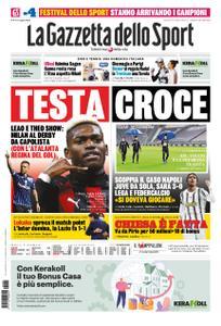 La Gazzetta dello Sport Bergamo – 05 ottobre 2020