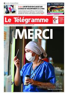 Le Télégramme Concarneau – 24 avril 2020