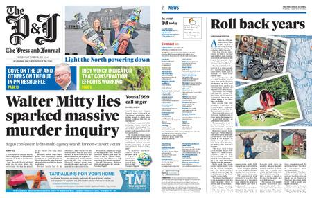 The Press and Journal Moray – September 16, 2021
