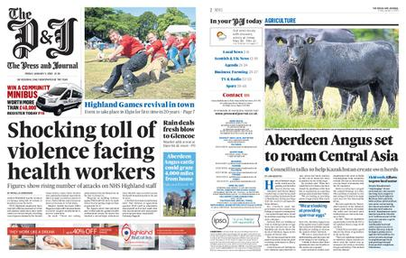 The Press and Journal Moray – January 03, 2020