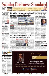 Business Standard - April 14, 2019