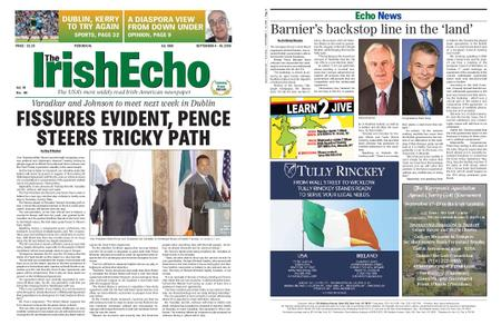 The Irish Echo – September 03, 2019