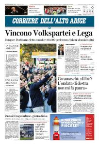 Corriere dell'Alto Adige – 28 maggio 2019