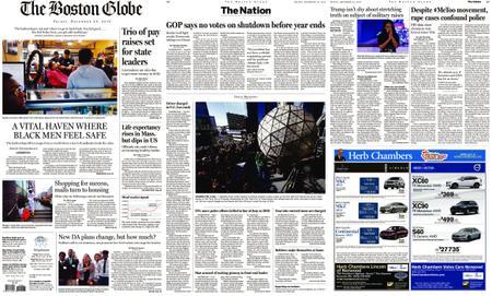 The Boston Globe – December 28, 2018