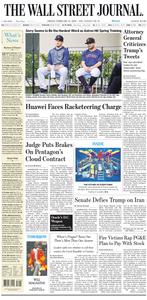 The Wall Street Journal – 14 February 2020