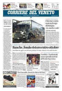 Corriere del Veneto Vicenza e Bassano - 7 Agosto 2018