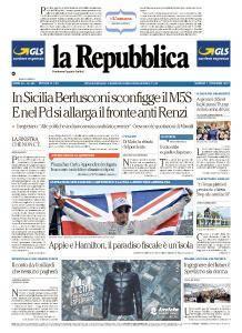 la Repubblica - 7 Novembre 2017