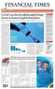 Financial Times Europe - November 10, 2020