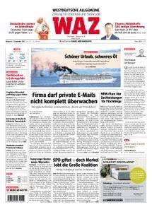 WAZ Westdeutsche Allgemeine Zeitung Oberhausen-Sterkrade - 06. September 2017